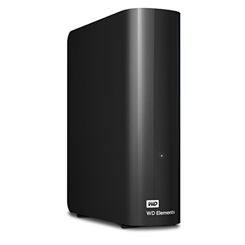 WD Elements Desktop - Disco duro externo de sobremesa de 6 TB, color negro