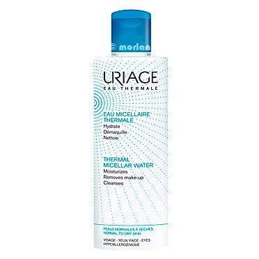 Uriage Agua Thermal Micelar Desmaquillante Piel Normal-Seca, 100ml
