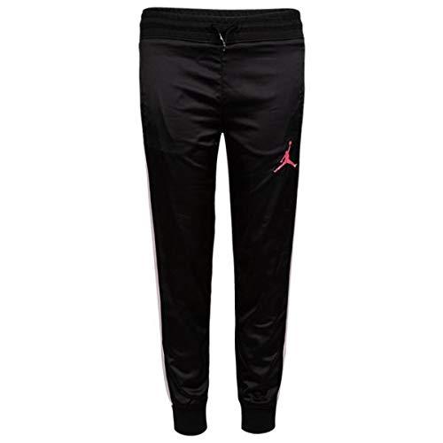 大人もOK nike ナイキ ジョーダン 女の子用Jordan Open Lane Shine Pants(Black/Pink Foam/White) ジョガーパンツ スウェットパンツ レギンス スパッツ ジャージ ストリート ボトムス [並行輸入品]