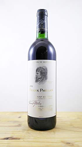 Wein Jahrgang 1991 Frank Phélan Flasche