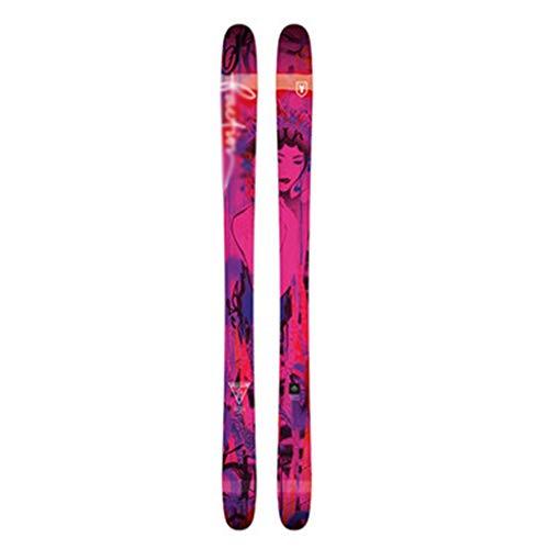 Rodel Snowboard Weiblich Wilde Snowboard Winter Im Freien Doppelte Snowboard Ski-Skifahrer Longboard (Color : Red, Size : 168cm/66.1 inches)