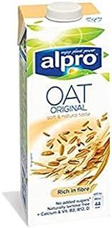 Alpro Original Oat Milk | Rich in Fibre | No added sugar | Low in Fat | 44 Kcal | 1Ltr