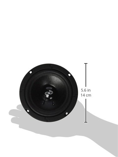 5 Inch Car Midrange Driver - 200 Watt High Powered Car Audio Sound Component Speaker System w/ High Temperature Kapton Voice Coil, 80Hz-7kHz Frequency, 90 dB, 8 Ohm, 15 oz Magnet - Pyle PDMW5