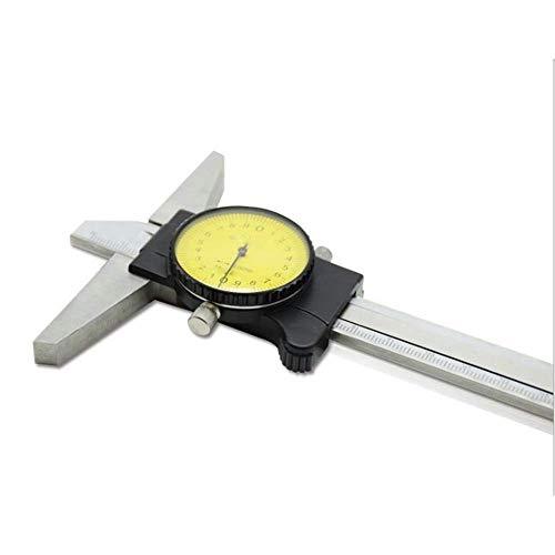 BFORS Tiefere Schieblehre, Tiefe 0-150 mit Skalenscheibe Tiefenmesser Tiefenmesser Robustes Präzisionslineals
