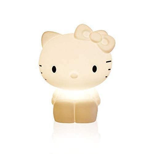 Hello Kitty La nuit colorée allume des lumières d'enfant à DEL de 45 cm de hauteur et à intensité variable pour les enfants, les vacances, les amis et la famille