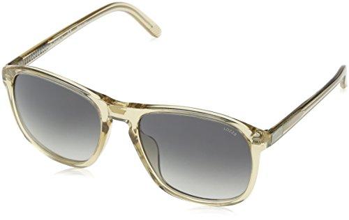 Lozza Herren Sl1845L Sonnenbrille, Grau (SHINY TRANSP.LIGHT BEIGE), Einheitsgröße