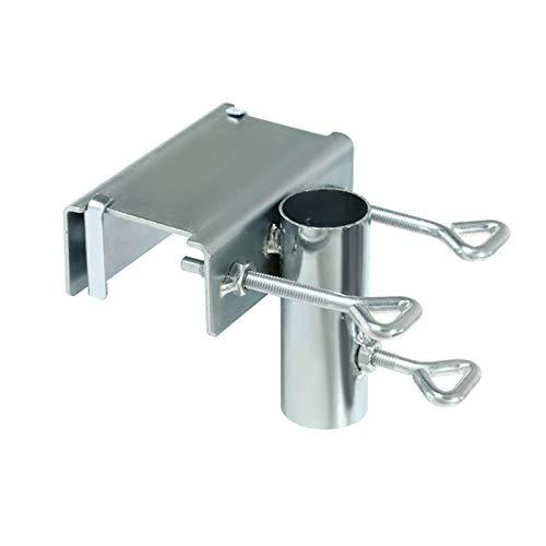 Abrazadera de soporte de sombrilla de balcón de mesa, soporte de sombrilla, clip de soporte de sombrilla, clip de fijación de sombrilla de jardín, soporte abrazadera de soporte de sombrilla resistente