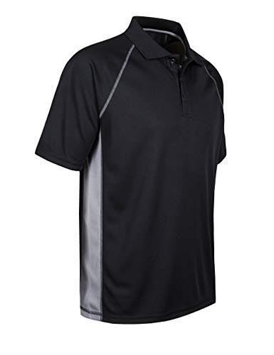Corna-Mens-Moisture-Wicking-Short-Sleeve-Polo-Regular-Fit-Polo-Shirt