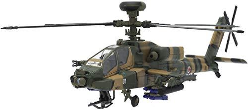 自衛隊 ヘリコプター おもちゃ 模型 AH-64D 1/100 アパッチ ロングボウ [並行輸入品]