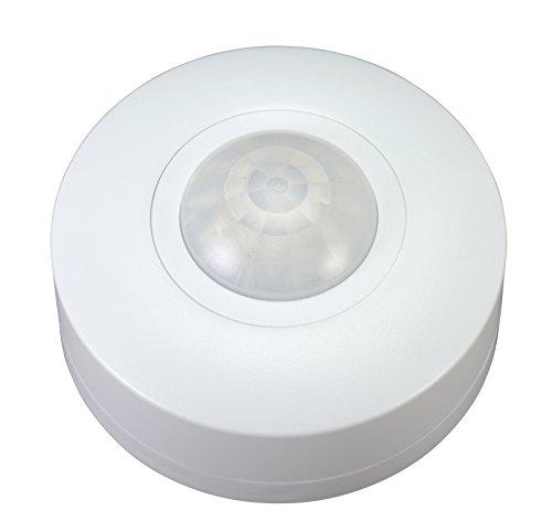 Garza Power - Detector de movimiento infrarrojos de techo 360º