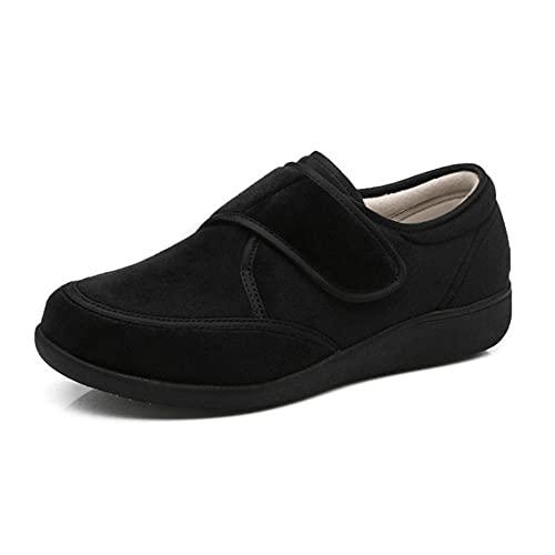 WENHUA Mujer Zapatillas Zapatos Diabeticos, Calzado Zapatos Deportivos Ajustables, A_43, Espuma De Memoria Zapatillas para DiabéTicos