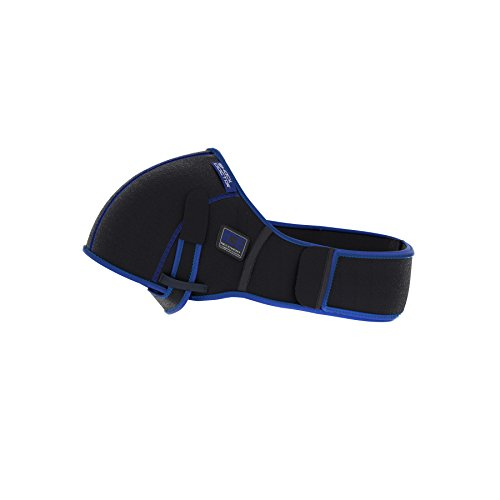 Shock Doctor Ice Recovery Compression Shoulder Wrap. Heat or Ice. Reusable Gel Packs