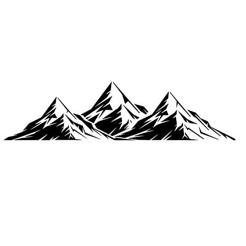 pologmase Etiqueta Engomada del Coche 3D Pegatinas De Coche Personalizadas Etiqueta Engomada De La Puerta del Lado del Coche De La Etiqueta Engomada del Coche De La Montaña, Pegatina De Coche Tuning