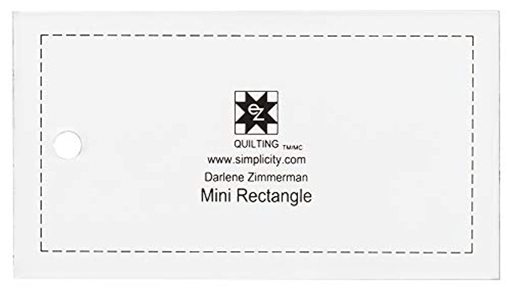 Dimensions Small Rectangle Quilting Ruler and Quilting Template
