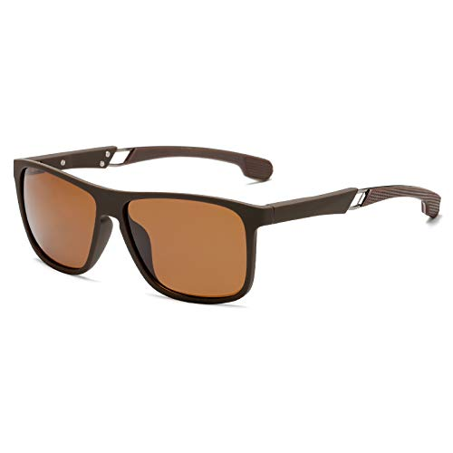 bedee Gafas de Sol Hombre Gafas de Sol Polarizadas Aptos para Conducir, Pescar e Ir en Bicicleta Montaña,Lentes UV400 Y Montura De TR-90,100% De Protección UV …