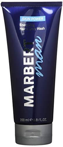Marbert Man SkinPower Hair&Body Wash - haar- en lichaamswasgel 2 stuks (2 x 200 ml)