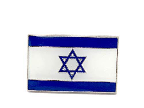 Patch Nation Israel Israelisch Flagge Metall Button Badge Pin Pins Anstecker Cosplay Brosche