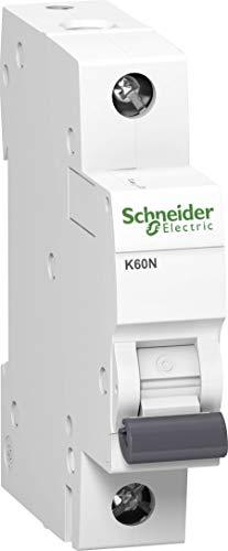 Schneider A9K02102 Leitungsschutzschalter K60N 1P, 2A, C Charakteristik, 6kA