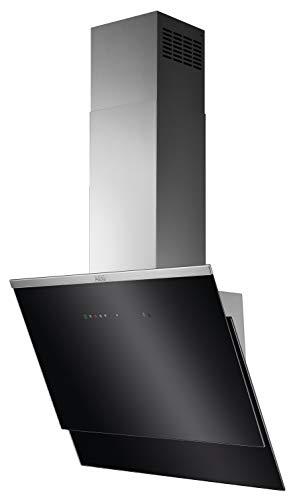 AEG DVS567AHG / Abluft oder Umluft / 60cm / Black/Stainless Steel / Hob²Hood / max. 310 m³/h / min. 65 – max. 73 dB(A) / A / Touch-Bedienung