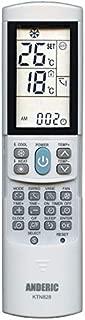 Anderic KTN828 Universal Mini-Split Air Conditioner Remote Control - Works Most Major Brands: Lennox, Samsung, Kenmore, Toshiba, Sanyo, Haier, Mitsubishi, Frigidaire, Hitachi, LG, Panasonic, Sharp