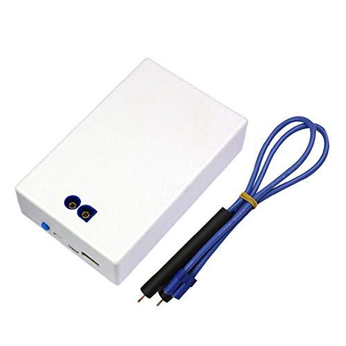 Spot Spot de soldadura automático Mini punto Soldador portátil de mano del hogar de DIY soldadura por puntos herramienta blanca
