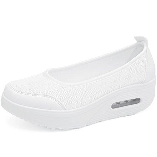 Skechers Herren Sportschuhe, Farbe Weiß, Marke, Modell Herren Sportschuhe Shape UPS XT Extreme Comfor Weiß