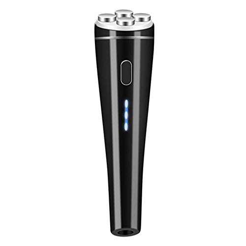 HYLH EMS Electroporation Couleur Light Beauty Instrument Micro Instrument d'importation Actuelle RF Radio Frequency Beauty Instrument Facial Lifting, Black