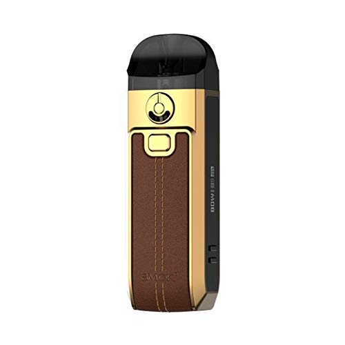 SMOK NORD 4 Vape KIT 80W 2ML Brown Leather No Nicotine