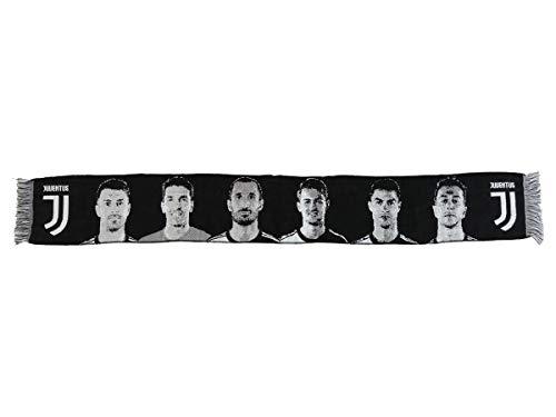 Sjaal Jacquard Juventus speelgoed (Cristiano Ronaldo, Buffon, Ramsey, Chiellini, De Ligt, Bernardeschi) officieel product