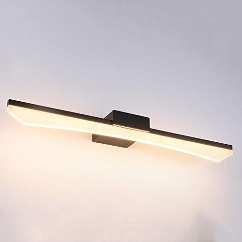 Lámpara Cuarto de baño de tocador Cuarto de baño de tocador Moderno espejo de tocador de estilo minimalista Espejo Espejo Faros Luces de baño (Color : White light)