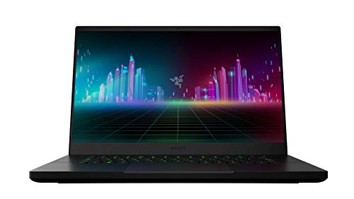 Razer Blade 15 Gaming Laptop: 15,6 Zoll Full HD 120Hz Basis Modell, Intel Core i7 10th Gen, NVIDIA GeForce GTX 1660 Ti, 16GB RAM, 256GB SSD, Chroma RGB Beleuchtung | Qwertz DE-Layout