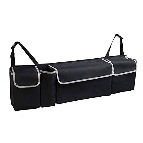 CFPacrobaticS Ablagefach Auf Dem Rücksitz Für Autos Große Oxford Organizer-Universaltasche Mit Mehreren Taschen Für Familienausflüge schwarz