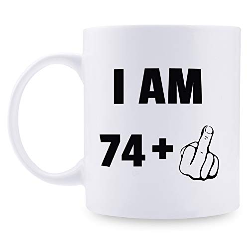 75th Birthday Gifts for Men - 1944 Birthday Gifts for Men, 75 Years Old Birthday Gifts Coffee Mug for Dad, Husband, Friend, Brother, Him, Colleague, Coworker - 11oz