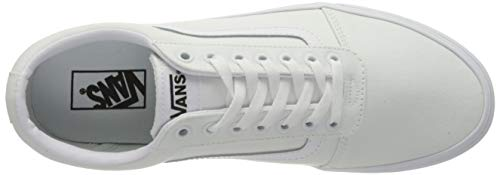 Vans Ward, Scarpe da Ginnastica Unisex-Adulto, Canvas White/White, 42 EU