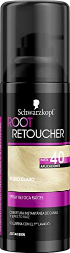 Root Retoucher - Spray Retoca Raíces Color Rubio Claro - 2 uds - Schwarzkopf