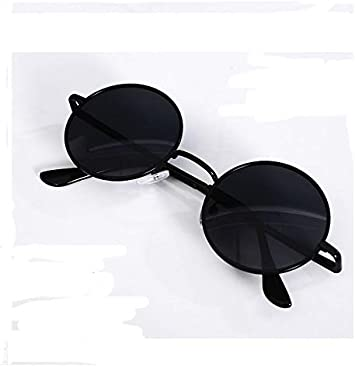 Nuwind Anime Jujutsu Kaisen Cosplay Gojo Satoru Round Sunglasses Retro Glasses Black Unisex Accessories Props Style B Amazon Co Uk Toys Games