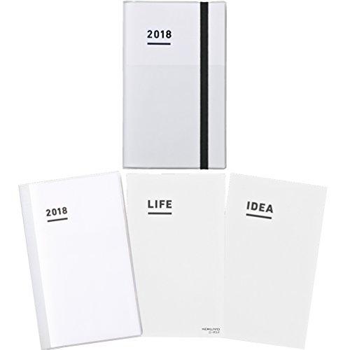 コクヨ ジブン手帳 ファーストキット 2018 2017年11月始まり A5スリム ホワイト ニ-JF1W-18