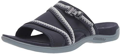 Merrell Women's J5001418 Sandal, Navy/Grey, 9