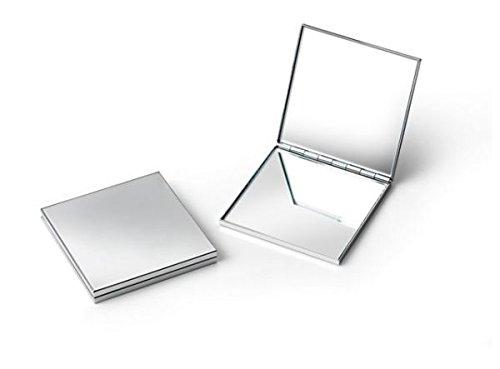 Ten Miroir DE Poche CARRÈ - Chrom㉠cod.EL9000 cm 6x6x1,5h by Varotto & Co.