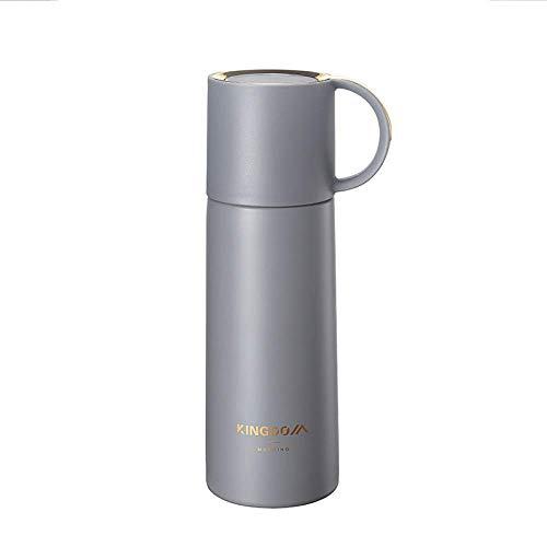 MONTA Termo de doble pared de 350 ml, botella de agua aislada de acero inoxidable, frasco para bebidas calientes y frías, taza de viaje, taza de café, botella de agua deportiva