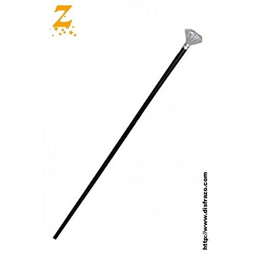 Funny Fashion KES60652 Spazierstock Diamant, ca. 120cm