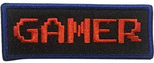 Video Games Gamer - Sew Iron on, Embroidered Original Artwork - Patch - 2