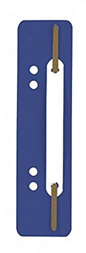 Durable 690107 - Fle x i Filing Strips, pressino fermafogli, 38 x 150 mm, foratura 60/80 mm, blu, confezione da 250 pezzi
