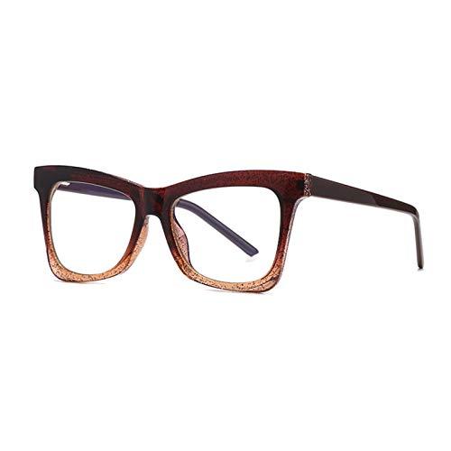Carrey Blue Light Blocking Glasses Women and Man Computer Eyeglasses Frame Glasses Cat Eye Glasses Frame with Clear Lenses Eyewear for Women