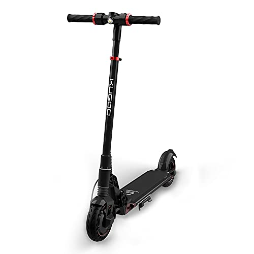 KUGOO Electric Scooter, Electric Scooter for Adults, 350W/15.5 MPH Pro Scooter, Scooter with Foldable Frame and Handle Bar, 8 Inches Tires, S1 PLUSBK