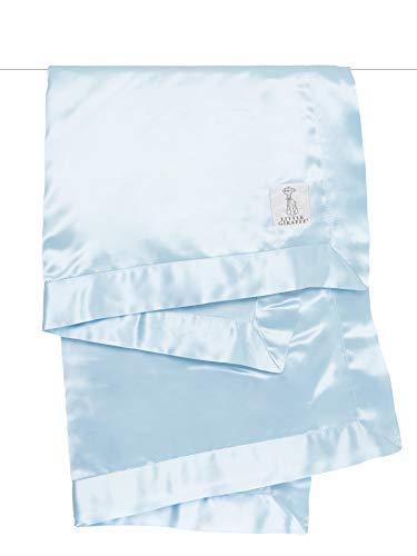 Little Giraffe Velvet Deluxe Blanket, 29' X 35', Blue