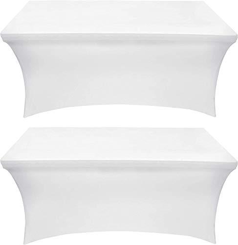Utopia Kitchen Mantel Extensible - Cubierta de Mesa Ajustable de 4 pies (122 cm) - Mantel de poliéster y Spandex - Lavable a...