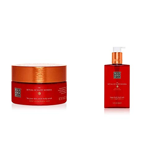 RITUALS The Ritual of Happy Buddha Körperpeeling, 250 g & The Ritual of Happy Buddha Handseife, 300 ml