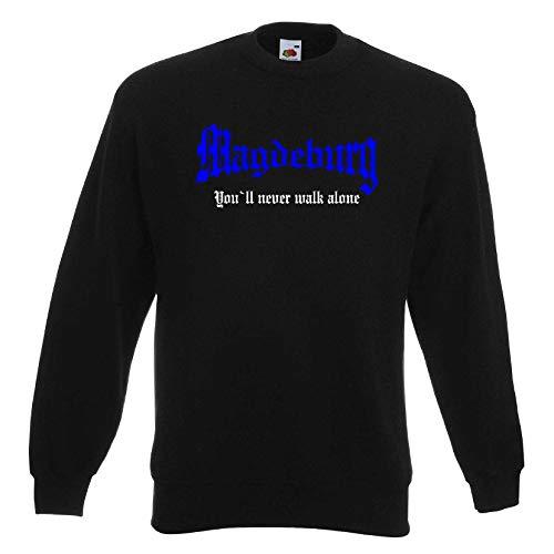 Magdeburg Herren Sweatshirt You`ll Never Walk Alone