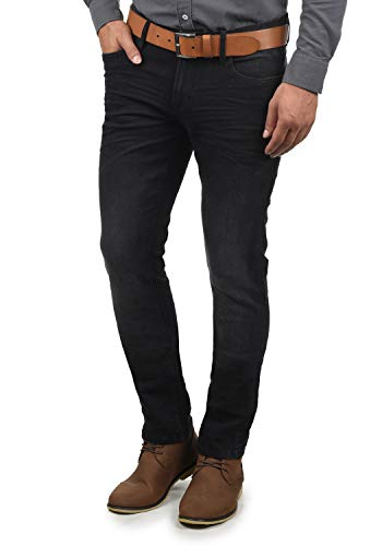 Blend Pico Herren Jeans Hose Denim Aus Stretch-Material Skinny Fit, Größe:W33/32, Farbe:Denim Black (76204)